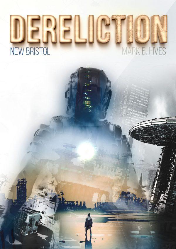 Viertes Cover Dereliction Sci-Fi Roman