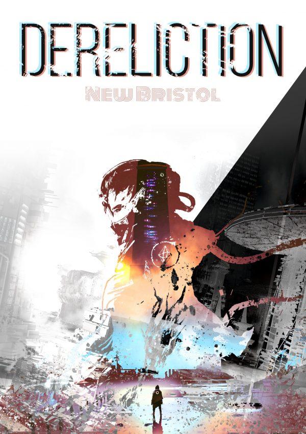 Zweites Cover Dereliction Sci-Fi Roman