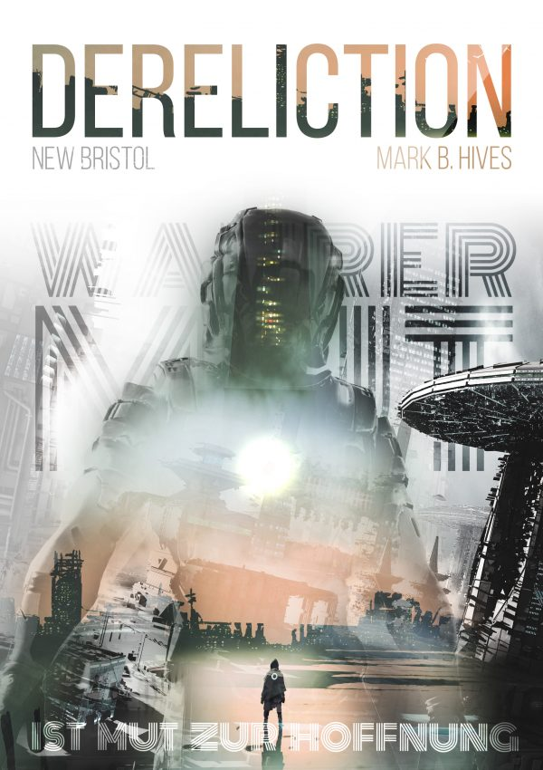 Fünftes Cover Dereliction Sci-Fi Roman